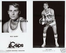 RICK BARRY WASHINGTON CAPS ABA BASKETBALL 8X10 PHOTO