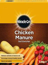 CHICKEN MANURE SOIL ENRICHER. 3.5kg PACK. IMPROVE SOIL. STRONG + HEALTHY GROWTH.