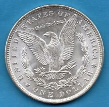 1886 USA SILVER MORGAN DOLLAR COIN. PHILADELPHIA MINT. UNITED STATES AMERICA $1