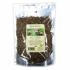Certified Organic RED CLOVER FLOWERS 50g HERBAL TEA Premium ~ Dried Herbs