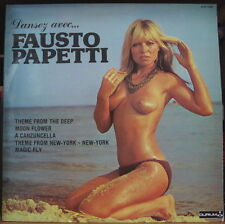 "FAUSTO PAPETTI ""DANSEZ AVEC..."" RARE SEXY NUDE CHEESECAKE COVER FRENCH LP"