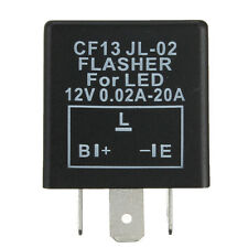 LED Flasher Unit Relay Indicators 12V For LED Light Turn Signal 3 Pin