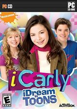 NEW iCarly iDream in Toons PC Video Game Nickelodeon TV show computer windows8/7