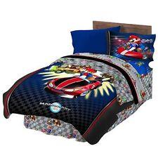 """Super Mario """"Full Speed"""" Full Comforter Set"""