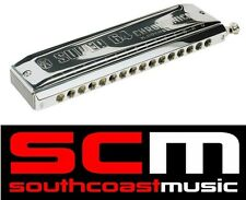 16 HOLE HOHNER C HARMONICA SILVERPLATED CHROMATIC 7582/64 SUPER 64 CHROMONICA