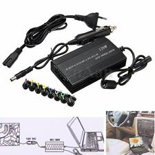 Universal Laptop In Car DC Charger Notebook AC Adapter Power Supply 120W EU Plug