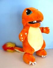 "LARGE Vntg Nintendo POKEMON Plush 20"" CHARMANDER Stuffed Animal Toy Figure Play"