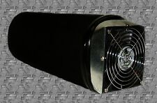 6 x 14  ACTIVATED CARBON  FILTER WITH 130 CFM FAN REMOVES ODORS **REFILLABLE**