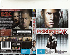 Prison Break-2005/9-TV Series USA-The Complete First Season-[6 Disc set]-DVD