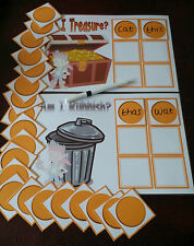 Buried Treasure Game Phonics reading / writing/word & sound recognition ph 2-5