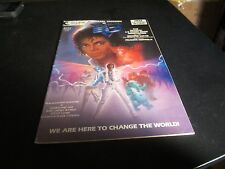 MICHAEL JACKSON AS CAPTAIN EO RARE #1 COMIC NO 3-D GLASSES AWESOME COMIC!!
