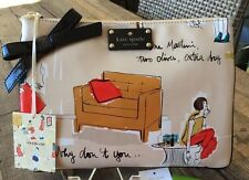 "RARE!!! KATE SPADE NY ""COCKTAIL PARTY"" GARANCE DORE GEORGIE CLUTCH/ POUCH, NWT"