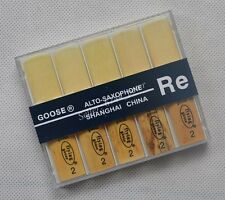 "10 pcs Eb Alto Saxophone Reeds SAX reed size #2  Brand  ""Flying Goose""  NEW"