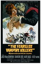 The Fearless Vampire Killers - Jack McGowran - A4 Laminated Mini Poster