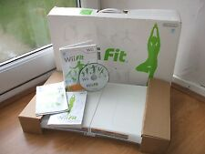 OFFICIAL NINTENDO WII FIT BALANCE BOARD +GAME FULLY WORKS ON WII & WiiU
