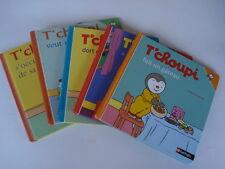 """LOT de 12 livres """"T'CHOUPI """" NATHAN"""
