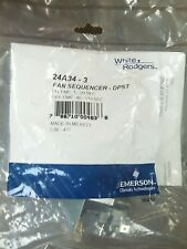 White Rodgers Fan & Heat Sequencer Timer DPST  24A34-3