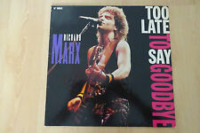 "Richard Marx Autogramm signed LP-Cover ""Too Late To Say Goodbye"" Vinyl"