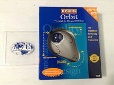 KENSINGTON ORBIT 64226 USB/PS2 TRACKBALL MOUSE USB UNIVERSAL SERIAL BUS
