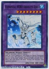 GENF-ENSE1 Elemental Hero Absolute Zero Super Rare Mint Yu-Gi-Oh! Card