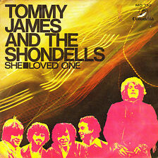 "7"" promo TOMMY JAMES and THE SHONDELLS she SPANISH 1970 loved one"