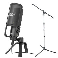 Rode NT-USB Condenser Wired Microphone with FREE Mic Stand