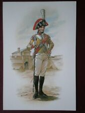 POSTCARD BMU11 - 6TH (1ST WARWICKSHIRE) REGT OF FOOT C19800 DRUM MAJOR