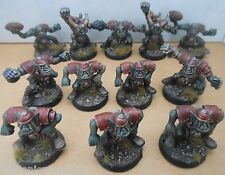 1994 ORC TEAM 2 Bloodbowl PLASTICA terza edizione Games Workshop PRO PAINTED ORK GW