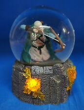 Hobbit Lord of the Rings Legolas Battle 100mm Lightup Snowglobe Figurine 25312