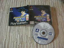 PLAYSTATION 1 PS1 DRAGON BALL FINAL BOUT PAL FRANCES