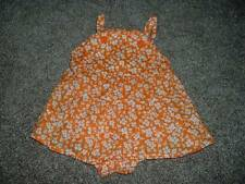 Gymboree Baby Girls Fairy Floral Skirted Dress Bubble Romper Size 0-3 months