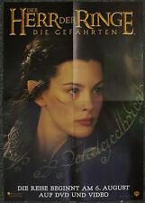 Filmposter A2 NEU Der Herr der Ringe die Gefährten Cate Blanchett Galadriel TOP!