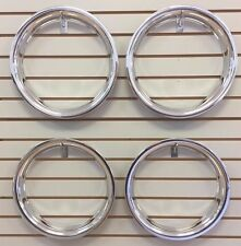 "14"" NEW Plastic Chrome Beauty Rings TRIM RING SET"