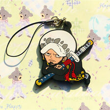 One Piece Pirate Trafalgar Law PVC Detailed Figure Cell Phone Chain Strap Charm