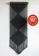 Best Choice Decor PROMO PRICE Made In India Black Macrame Wall Hanging