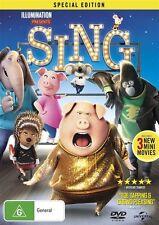 Sing (UV) NEW R4 DVD