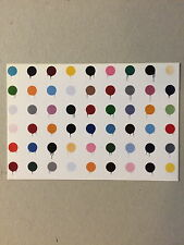 MR BRAINWASH, 'DOTS' exhibition promotional card 2012 Damien Hirst