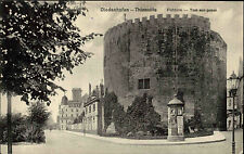 Diedenhofen Thionville Frankreich Lothringen 1916 Flohturm Turm Litfaßsäule AK