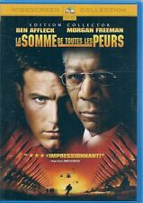 DVD ZONE 2--LA SOMME DE TOUTES LES PEURS--AFFLECK/FREEMAN/SCHREIBER/ROBINSON