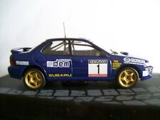 SUBARU IMPREZA 555 COLIN McRAE WINNER 1993 MEMORIAL BETTEGA - IXO 1/43 NEW