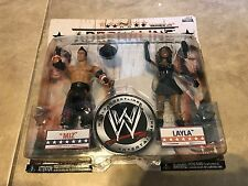 WWE Wrestling Layla and The Miz Adrenaline Series 29 Action Figure Set NEW