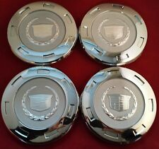 "4 X 07-15 CADILLAC ESCALADE PLAIN CREST 22"" WHEEL CENTER HUB CAPS 9596649"