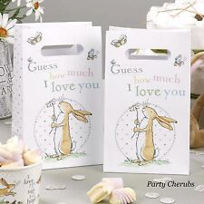 Guess how much i love you parti sacs x 5 - 1st anniversaire/baptême/baby shower
