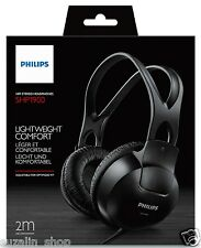 Philips SHP1900 Over-Ear Stereo Headphone (Black) + BILL