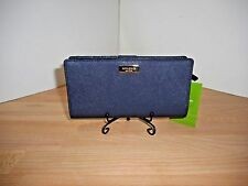 NWT KATE SPADE STACY LAUREL WAY OFFSHORE SAFFIANO LEATHER SLIM WALLET $119