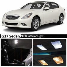 13x White Interior LED Light Package Kit 2007-2014 Infinit G35 G37 Sedan + TOOL