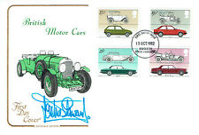Jackie STEWART Signed Autograph First Day Cover British Motor Cars FDC COA AFTAL