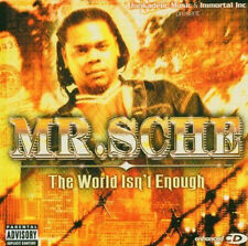 1116 // THE WORLD ISN'T ENOUGH - MR SCHE CD NEUF SOUS BLISTER