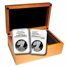 Complete NGC PF70 Silver Eagle Set (1986-2016)