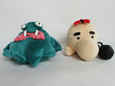 MOTHER 2 EARTHBOUND DOSEISAN MR SATURN  & GEPPU  MASTER BELCH PLUSH DOLL JP NEW